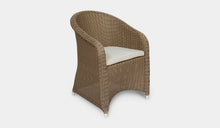Load image into Gallery viewer, Outdoor-Wicker-Dining-Chair-KubuCappuccino-r6