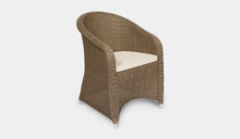 Load image into Gallery viewer, Outdoor-Wicker-Dining-Chair-KubuCappuccino-r7