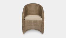 Load image into Gallery viewer, Outdoor-Wicker-Dining-Chair-KubuCappuccino-r8