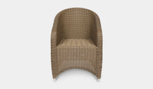 Load image into Gallery viewer, Outdoor-Wicker-Dining-Chair-KubuCappuccino-r9