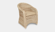 Load image into Gallery viewer, Outdoor-Wicker-Dining-Chair-KubuWhite-r10
