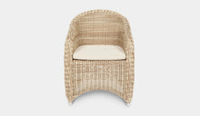 Load image into Gallery viewer, Outdoor-Wicker-Dining-Chair-KubuWhite-r11
