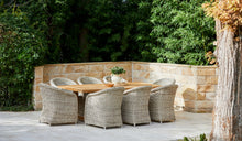 Load image into Gallery viewer, Outdoor-Wicker-Dining-Chair-KubuWhite-r12
