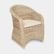 Load image into Gallery viewer, Outdoor-Wicker-Dining-Chair-KubuWhite-r1