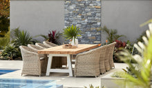 Load image into Gallery viewer, Outdoor-Wicker-Dining-Chair-KubuWhite-r3