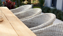 Load image into Gallery viewer, Outdoor-Wicker-Dining-Chair-KubuWhite-r5