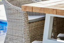 Load image into Gallery viewer, Outdoor-Wicker-Dining-Chair-KubuWhite-r6
