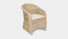 Load image into Gallery viewer, Outdoor-Wicker-Dining-Chair-KubuWhite-r7