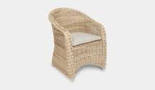 Load image into Gallery viewer, Outdoor-Wicker-Dining-Chair-KubuWhite-r8