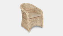 Load image into Gallery viewer, Outdoor-Wicker-Dining-Chair-KubuWhite-r9