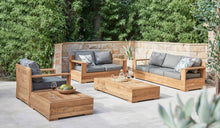 Load image into Gallery viewer, Reclaimed-Teak-Outdoor-Lounger-Monte-Carlo-1Seater-r2