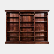 Load image into Gallery viewer, Solid-Mahogany-Bookcase-Barrington-r1