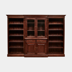 Solid-Mahogany-Bookcase-Everingham-3Piece-r1
