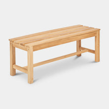 Load image into Gallery viewer, Teak-Backless-Bench-120-Linden-r1