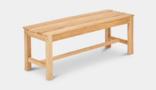 Load image into Gallery viewer, Teak-Backless-Bench-120-Linden-r3