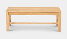 Load image into Gallery viewer, Teak-Backless-Bench-120-Linden-r4