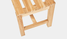 Load image into Gallery viewer, Teak-Backless-Bench-120-Linden-r5