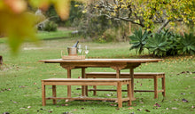 Load image into Gallery viewer, Teak-Lindon-table-with-bench-2