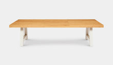 Load image into Gallery viewer, Teak-Crosstie-Table-3m-r7
