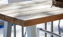 Load image into Gallery viewer, Teak-Crosstie-Table-3m-r9