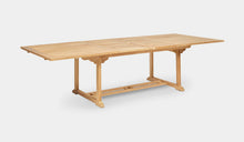 Load image into Gallery viewer, Teak-Double-Rectangle-Extending-Table-r5