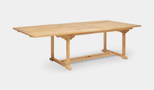 Load image into Gallery viewer, Teak-Double-Rectangle-Extending-Table-r7