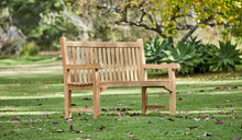 Load image into Gallery viewer, Teak-Outdoor-Bench-Classic-150cm-r2