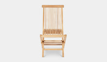 Load image into Gallery viewer, Teak-Outdoor-Dining-Chair-Classic-r10
