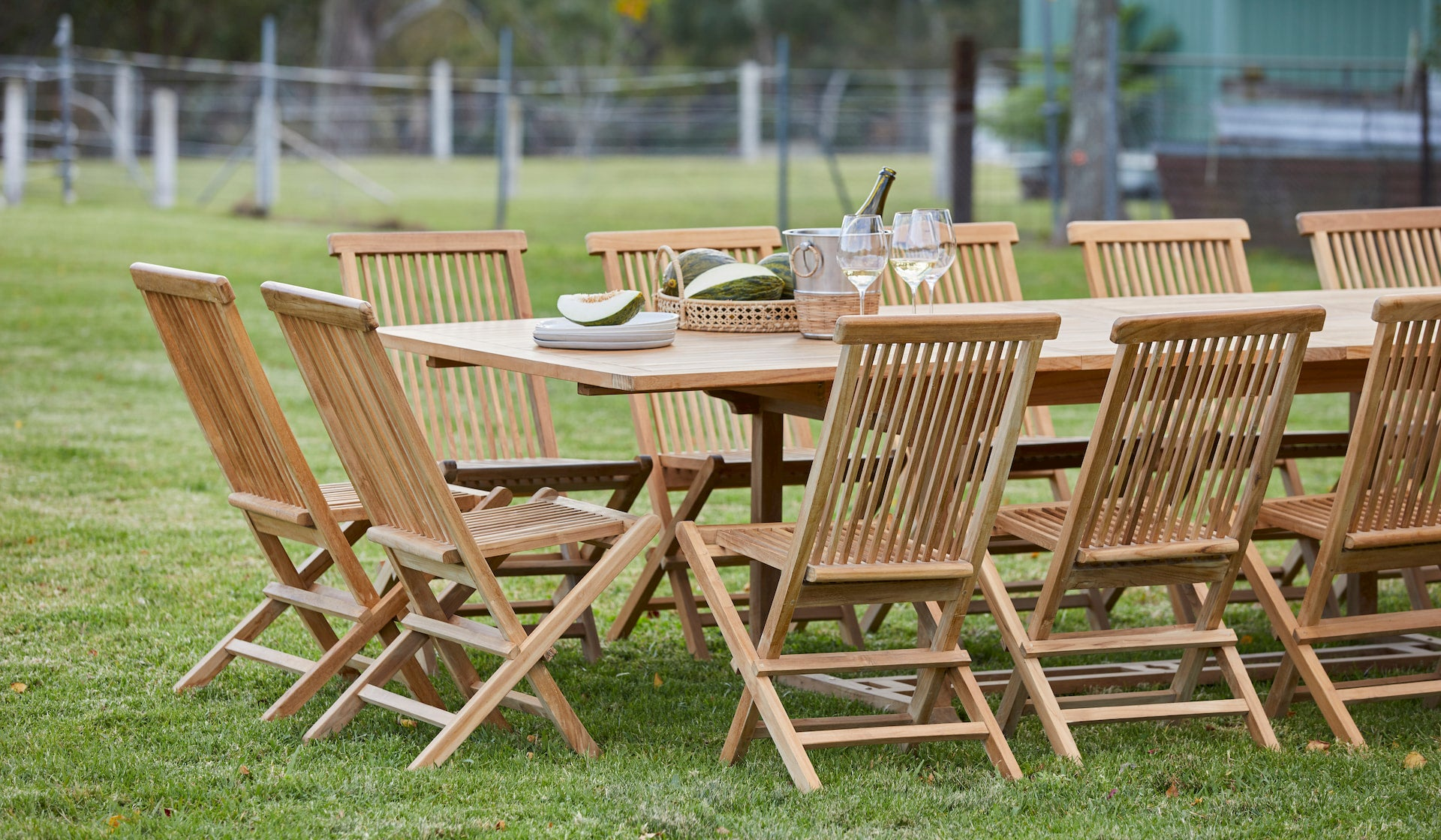 Picture of: Teak Classic Folding Chair Woodbury Furniture
