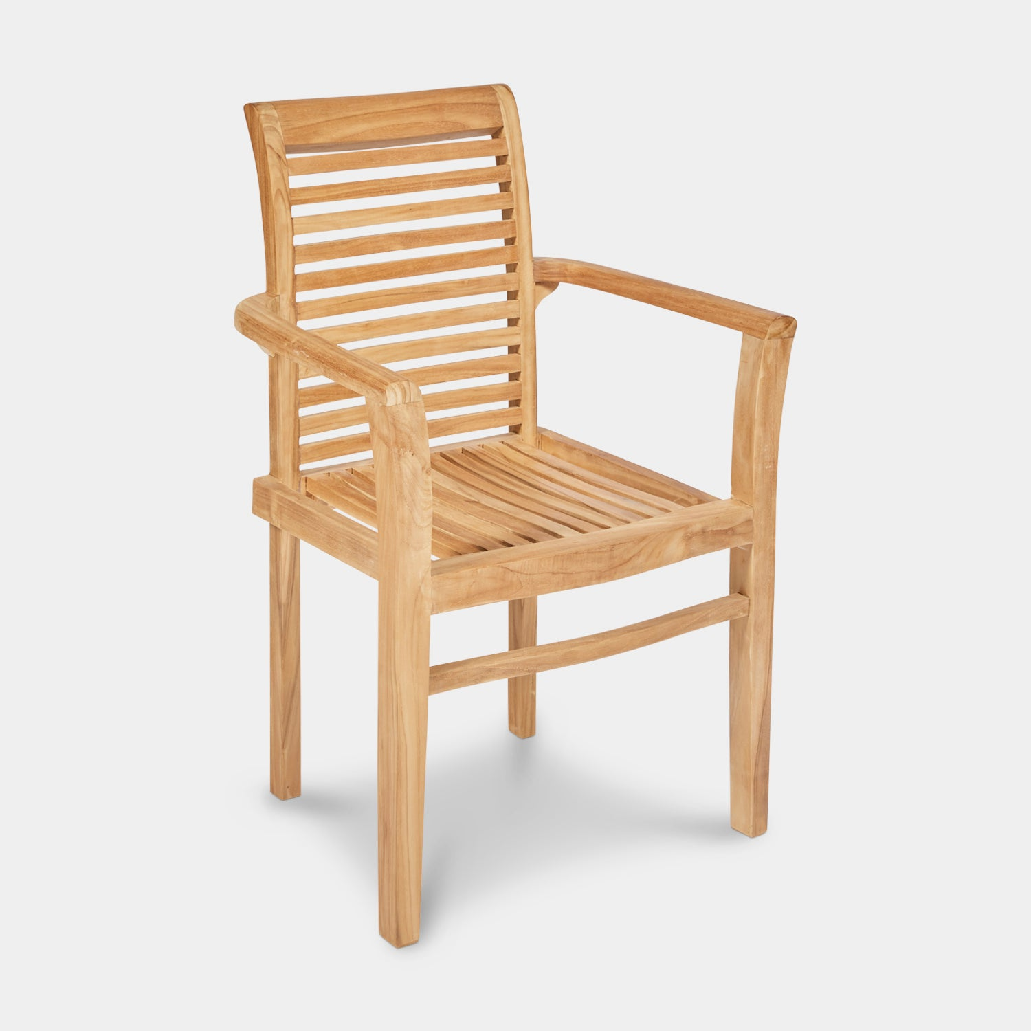 Teak-Outdoor-dining-chair-Blaxland-With-Arms-r1