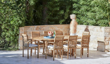 Load image into Gallery viewer, Teak-Outdoor-dining-chair-Blaxland-With-Arms-r3