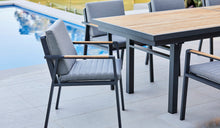 Load image into Gallery viewer, teak-aluminium-outdoor-dining-kai-4