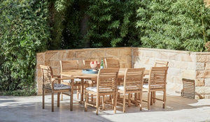 Teak-outdoor-9piece-setting-blaxland-side-chair-1