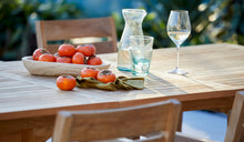 Load image into Gallery viewer, Teak-outdoor-dining-setting-Bakke-r3
