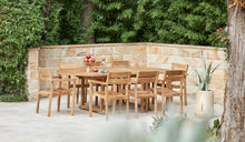Load image into Gallery viewer, Teak-outdoor-oval-table-Sydney-Bakke-r7