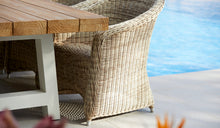 Load image into Gallery viewer, large-teak-table-wicker-crosstiekubu-r7