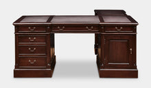 Load image into Gallery viewer, mahogany-desk-with-return-everingham-r7