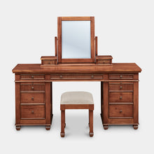 Load image into Gallery viewer, mahogany-dresser-mirror-stool-chelmsford-r1