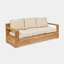 Load image into Gallery viewer, outdoor-reclaimed-teak-lounger-Monte-Carlo-3Seater-r1