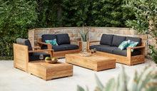 Load image into Gallery viewer, outdoor-reclaimed-teak-lounger-Monte-Carlo-3Seater-r8