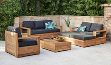 Load image into Gallery viewer, outdoor-reclaimed-teak-lounger-Monte-Carlo-3Seater-r9