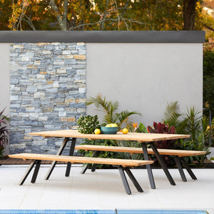 teak-aluminium-outdoor-dining-miami-bench-setting-r1