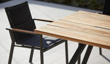 Load image into Gallery viewer, teak-aluminium-outdoor-dining-miamirockdale-r13