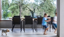 Load image into Gallery viewer, teak-aluminium-outdoor-dining-miamirockdale-r4