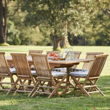 Load image into Gallery viewer, teak-outdoor-furniture-kenthurst-sydney-11pc-classic-r1