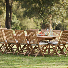 Load image into Gallery viewer, teak-outdoor-furniture-kenthurst-sydney-11pc-hawkesbury-r1
