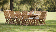 Load image into Gallery viewer, teak-outdoor-furniture-kenthurst-sydney-11pc-hawkesbury-r2