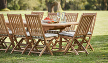 Load image into Gallery viewer, teak-outdoor-furniture-kenthurst-sydney-11pc-hawkesbury-r3
