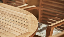 Load image into Gallery viewer, teak-outdoor-furniture-oval-table-blaxland-r3
