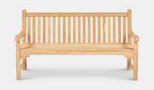 Load image into Gallery viewer, teak -bench-Classic-180cm-r4